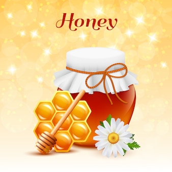 Honig-farbkonzept