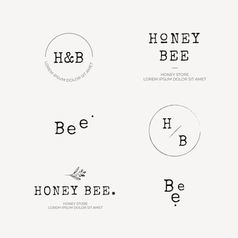 Honig-logo-kollektion