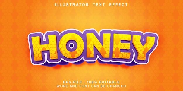 Honig-texteffekt editierbar