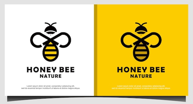 Honigbiene logo-design