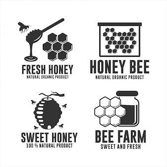 Honigbiene natürliches bio-produkt
