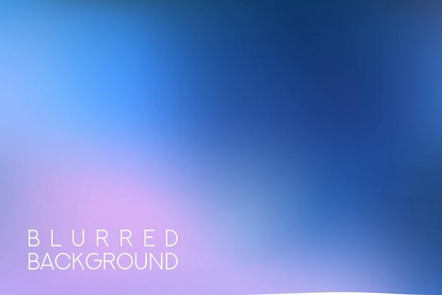 Horizontaler breiter blauer rosa himmel verwischte hintergrund. sonnenuntergang- und sonnenaufgangmeer verwischte hintergrund