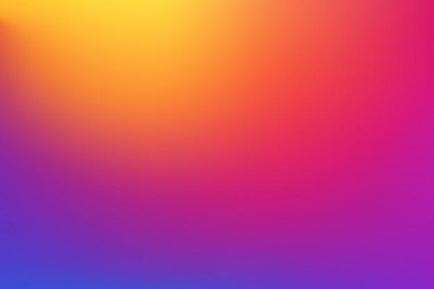 Horizontaler breiter roter rosa blauer unscharfer hintergrund