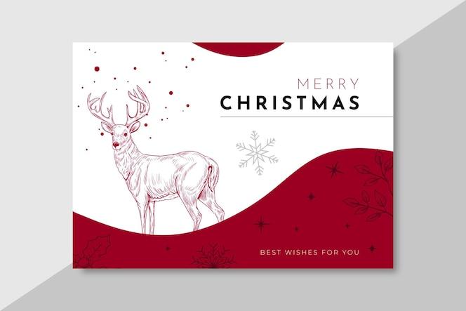 Horizontales banner für weihnachten