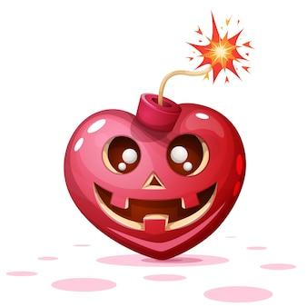 Horror, angst, halloween-illustration.