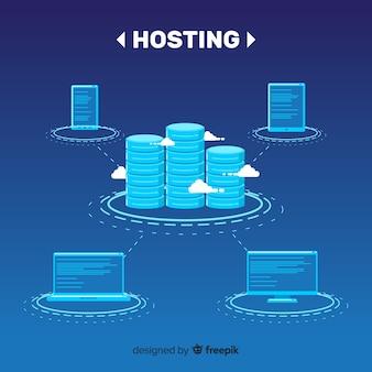 Hosting-service-hintergrund