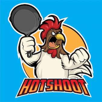 Hot shoot esport logo