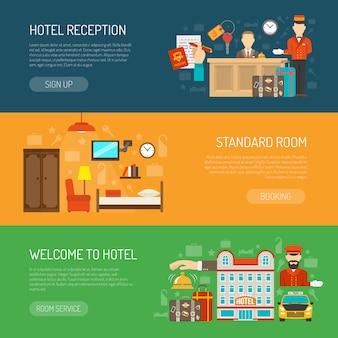 Hotel-banner-set