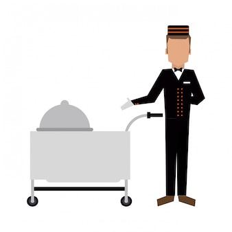Hotel bellboy-service