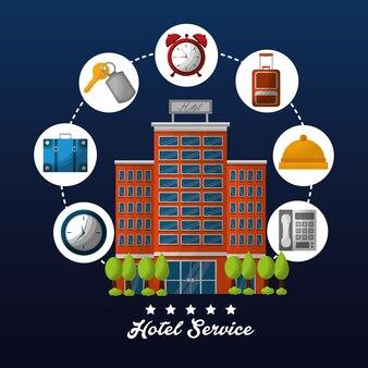 Hotel hochhaus service
