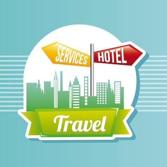Hotel-service-zeichen