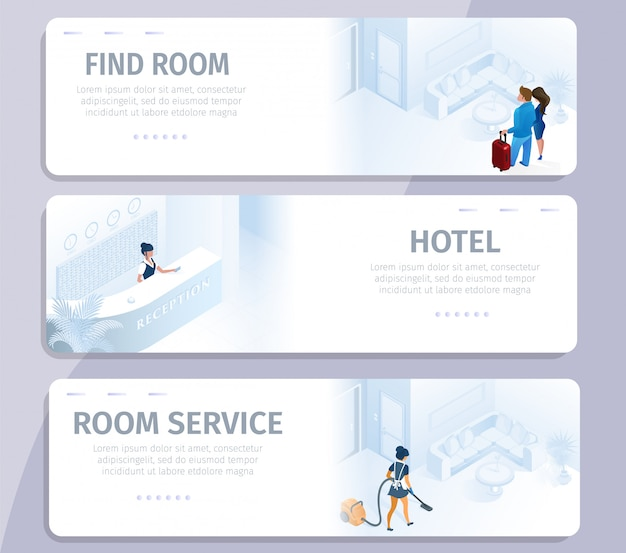 Hotelbuchung finden sie zimmerreinigungsservice-banner