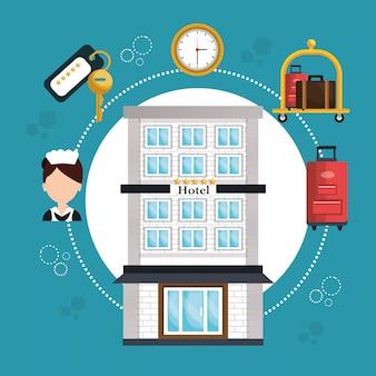 Hotelservice-set-symbol