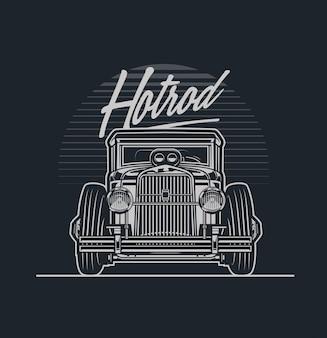 Hotrod auto
