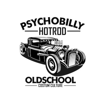 Hotrod illustration