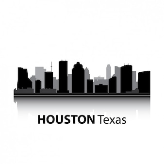 Houston skyline design