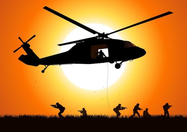 Hubschrauberillustration