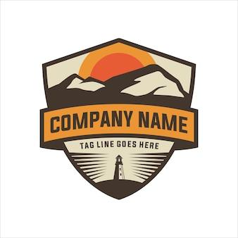 Hügel logo design