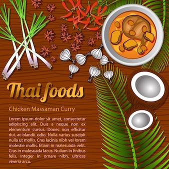 Hühnchen curry massaman