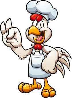 Hühnchen-koch