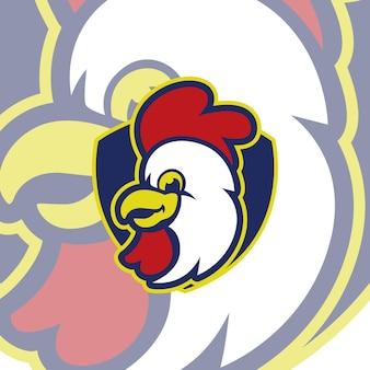Hühnchen-sport-logo