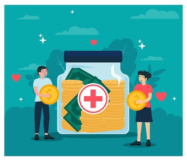 Humanitäre hilfe spenden geld