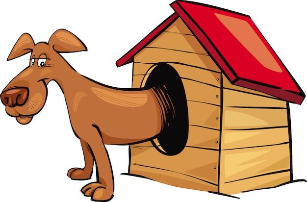 Hund im zwinger cartoon