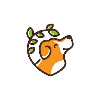 Hund Logo Vorlage Veterinär