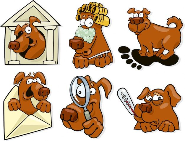 Hund symbole festgelegt