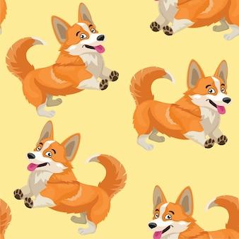 Hundemuster nahtlose textur