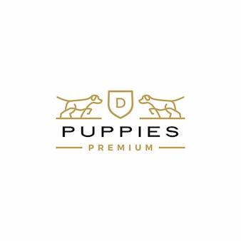 Hundewappen logo