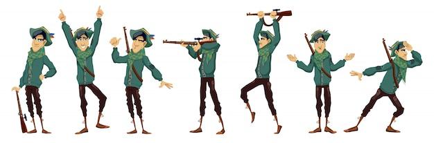 Hunter charakter abbildung