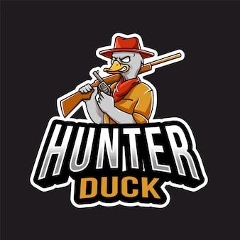 Hunter duck esport logo