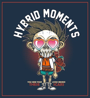 Hybrid-momente