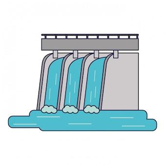 Hydroelektrische grüne energie