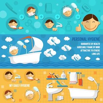 Hygiene-banner horizontal