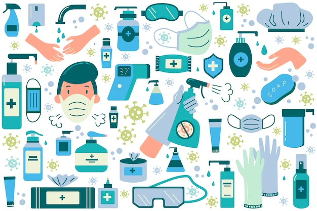 Hygiene-doodle-set.