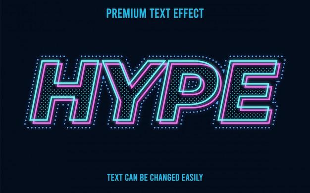 Hype-text-effekt