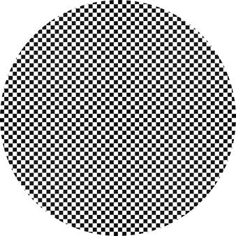 Hypnotischer schwarzweiss-hintergrund. vektor-illustration. eps 10.