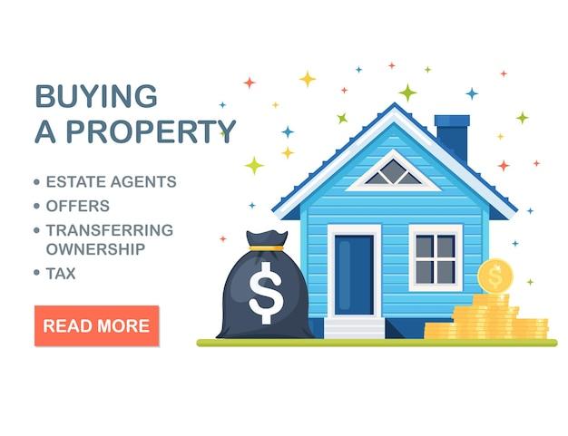 Hypothek zum kauf oder zur miete von immobilien
