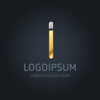 I logo gold und silber