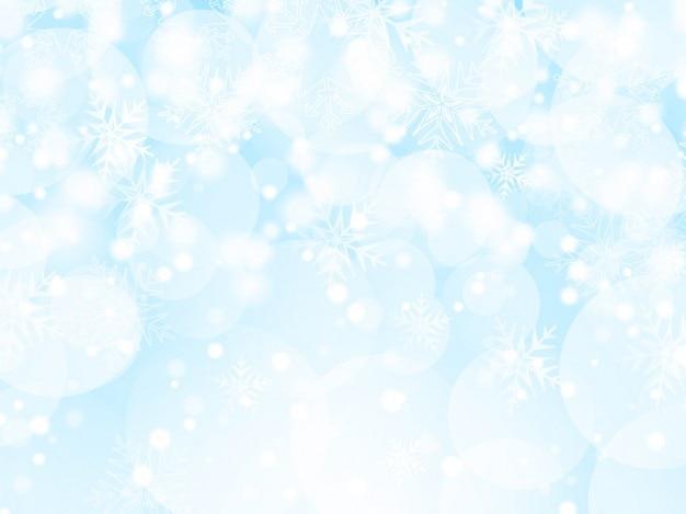 Iced weihnachten hintergrund
