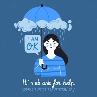 Ich bin nicht in ordnung selbstmordpräventionstag