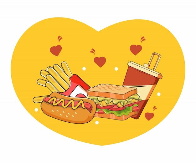 Ich liebe fast food