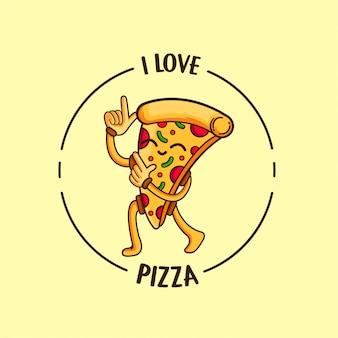 Ich liebe pizza