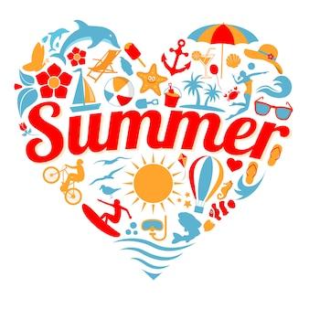 Ich liebe sommer