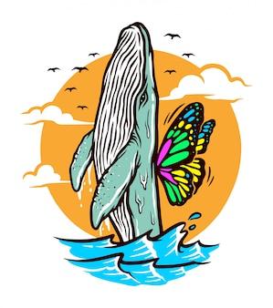 Ich möchte freie illustration fliegen