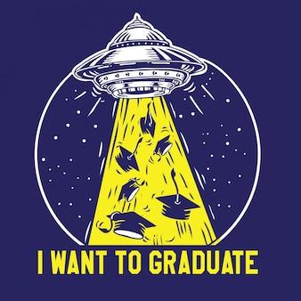 Ich möchte graduieren