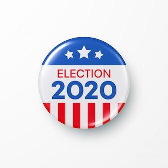 Ich stimme für die präsidentschaftswahl der vereinigten staaten von amerika.