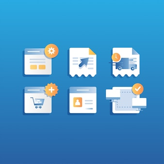 Icon e-commerce